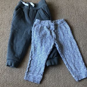 18-24M set of 2 pairs of soft pants